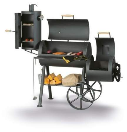Grill - smoker TRADITION 5 - SMOKY FUN